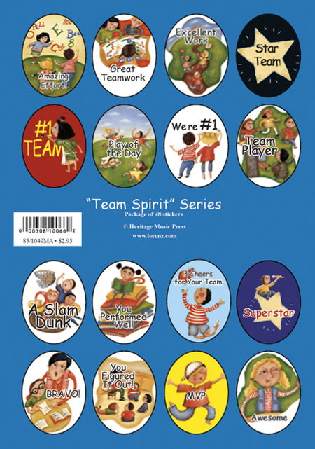 Stickers - Team Spirit Series