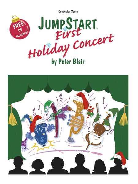 JumpStart First Holiday Concert - Score with CD