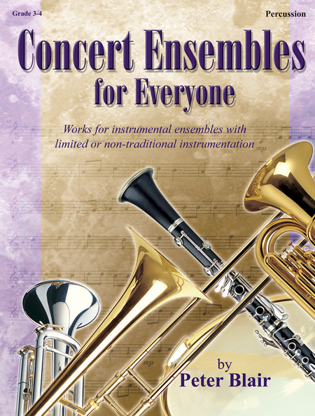 Concert Ensembles for Everyone - Percussion