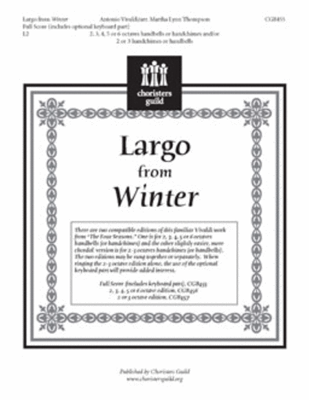 Largo from Winter - Full Score