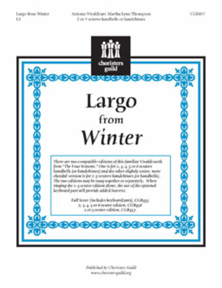 Largo from Winter - 2-3 octave Score