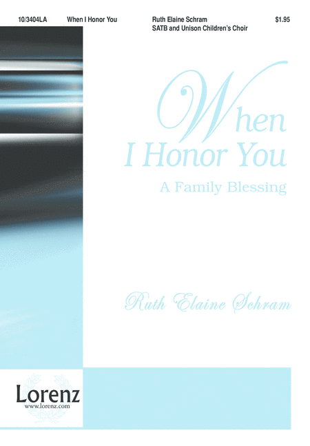 When I Honor You