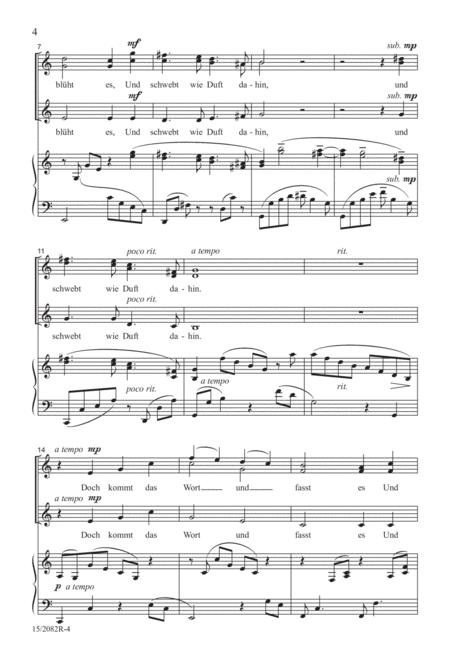 Wie Melodien zieht es mir