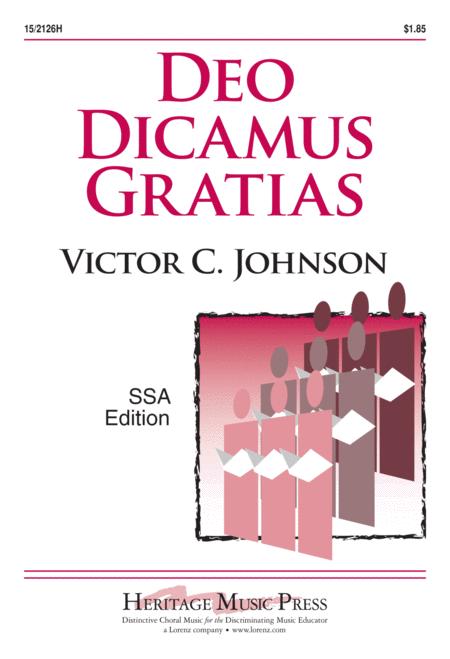 Deo Dicamus Gratias