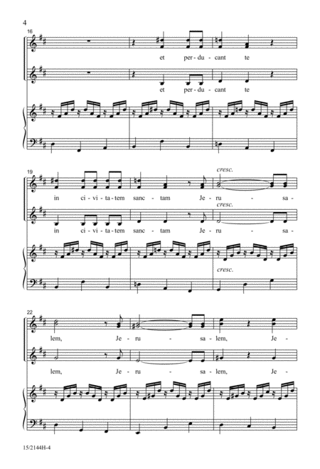 In Paradisum (from Requiem, Opus 48)