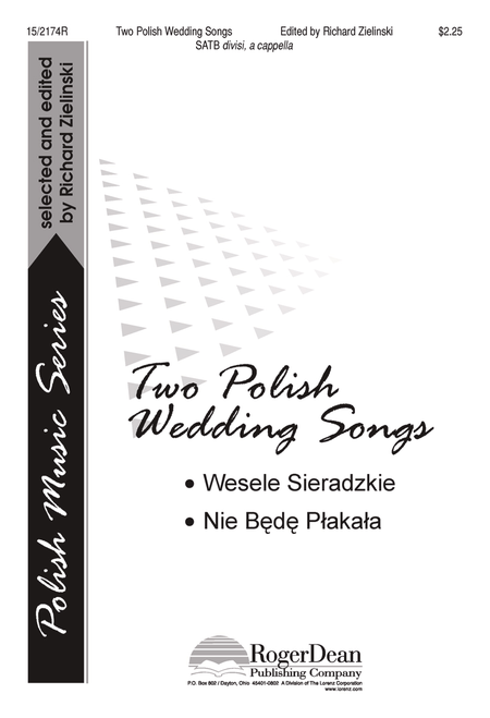 Two Polish Wedding Songs