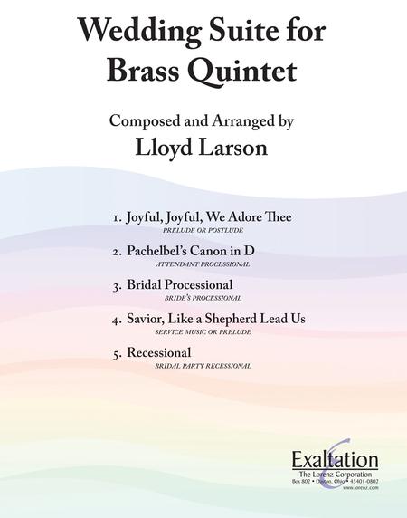Wedding Suite for Brass Quintet