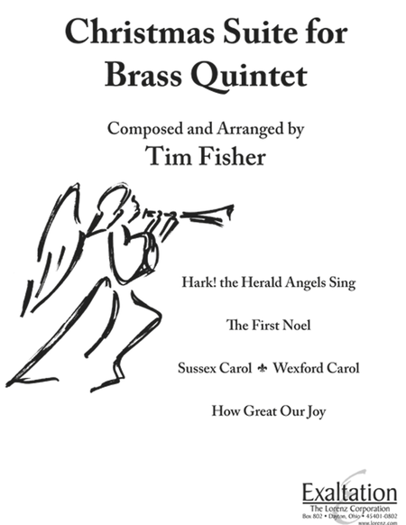 Christmas Suite for Brass Quintet