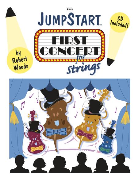 JumpStart First Concert for Strings - Viola