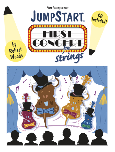 JumpStart First Concert for Strings - Piano Accompaniment