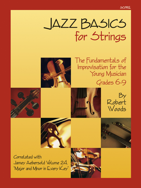 Jazz Basics for Strings - Score with CD