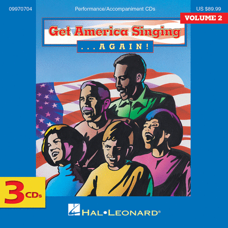 Get America Singing Again Vol 2 Complete 3-CD Set