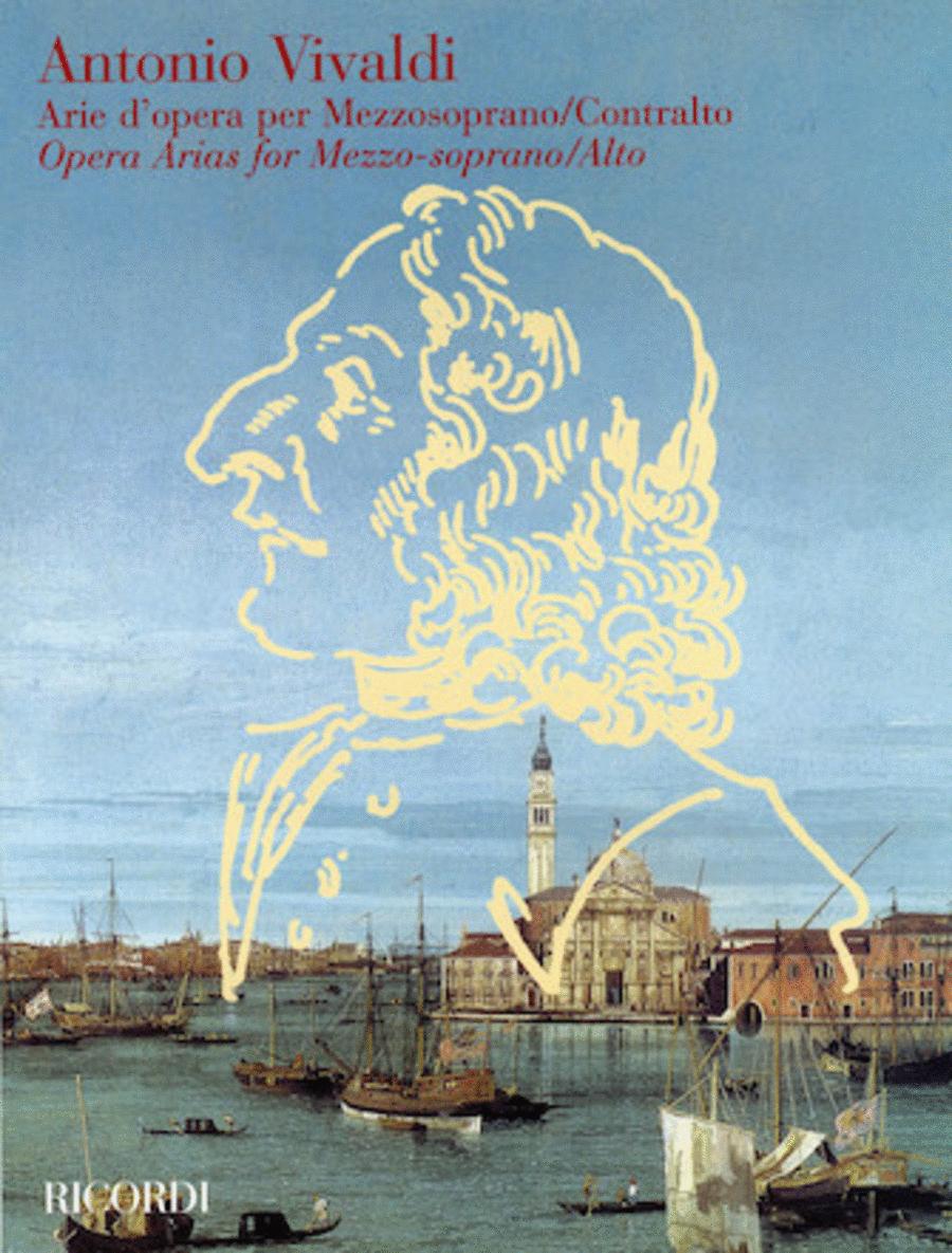 Vivaldi Opera Arias for Mezzo-Soprano/Alto
