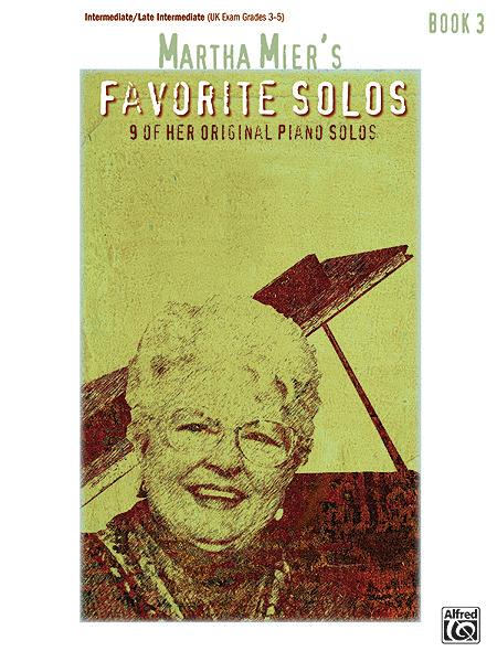 Martha Mier's Favorite Solos - Book 3