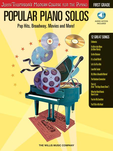 Popular Piano Solos - Grade 1 - Book/Audio