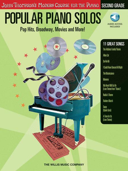 Popular Piano Solos - Grade 2 - Book/CD Pack