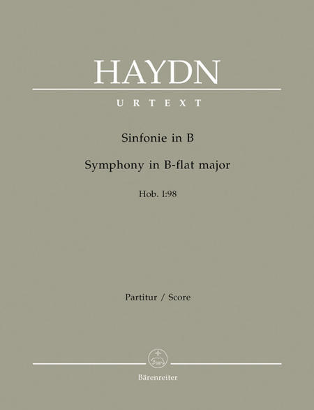 Symphony B flat major Hob. I:98