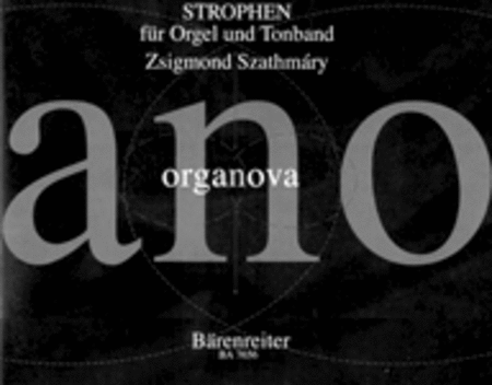 Strophen for Organ and Tape