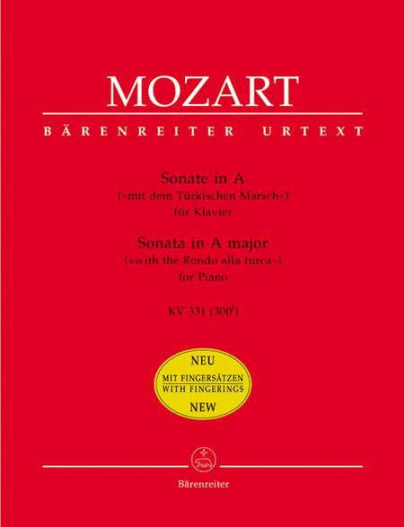Sonata for Piano A major, KV 331 (300i) 'alla turca'