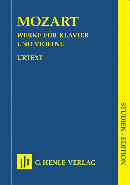 Sonatas for Piano and Violin - Volumes I-III