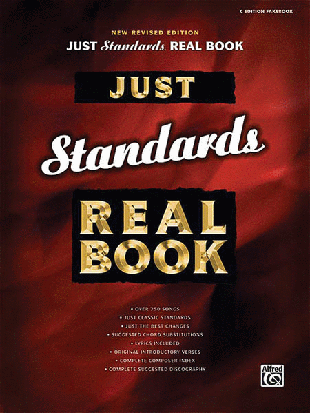 Just Standards Real Book - C Edition Fakebook (New Revised Edition)