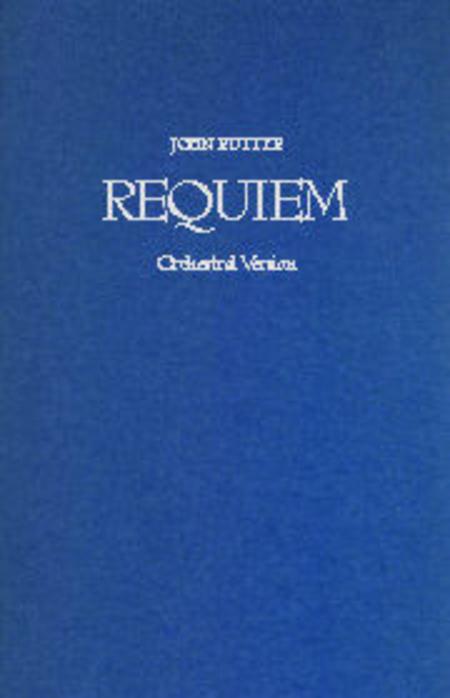 Requiem Rutter Orchestral Score