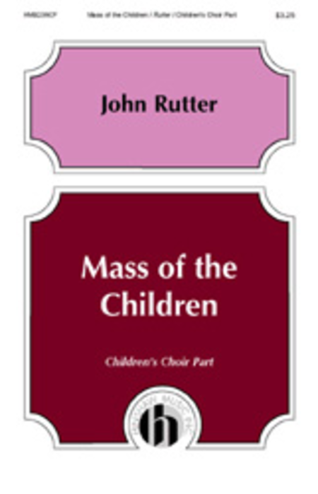 Mass of the Children - Children's Choir Part
