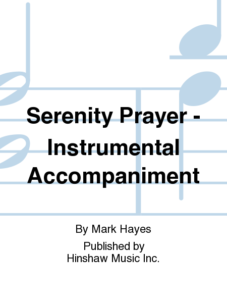 Serenity Prayer - Instr.