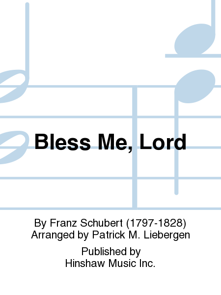 Bless Me, Lord