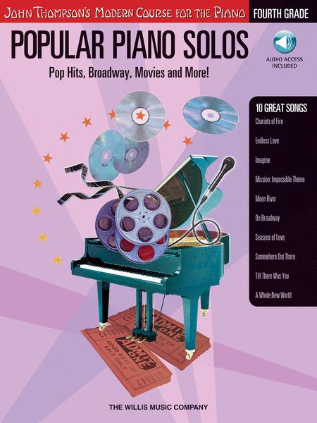 Popular Piano Solos - Grade 4 - Book/CD Pack