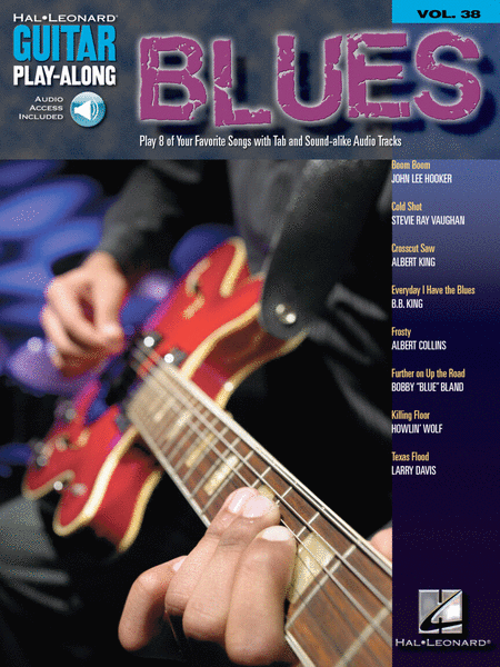 Blues - Guitar Play-Along Volume 38