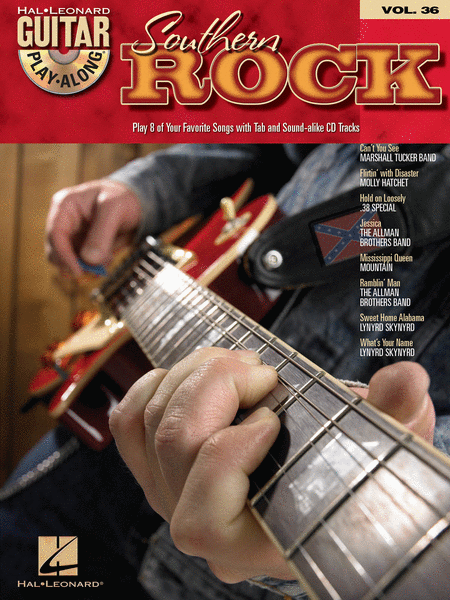 Southern Rock - Guitar Play-Along Volume 36