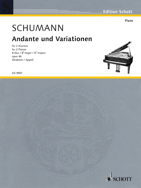 Andante and Variations in B Flat Major Op. 46
