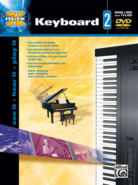 Alfred's Max! Keyboard 2 (Book and DVD)