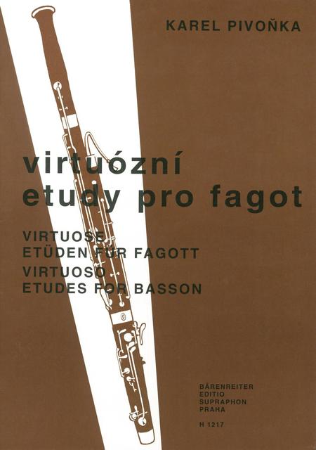 Virtuose Etueden fuer Fagott