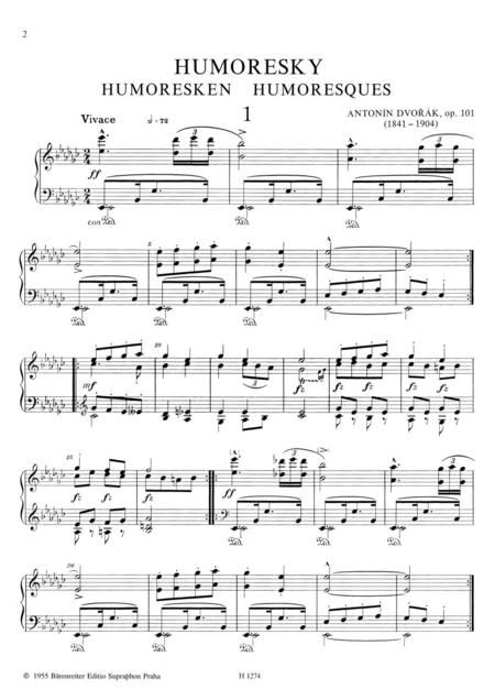Humoresques, Op. 101
