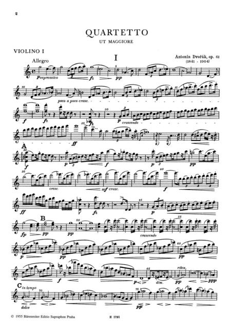 String Quartet No. 11 C major op. 61