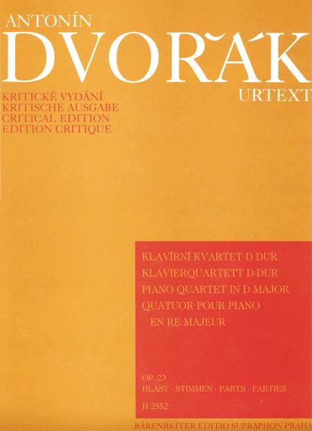 Klavierquartett No. 1 D major, Op. 23