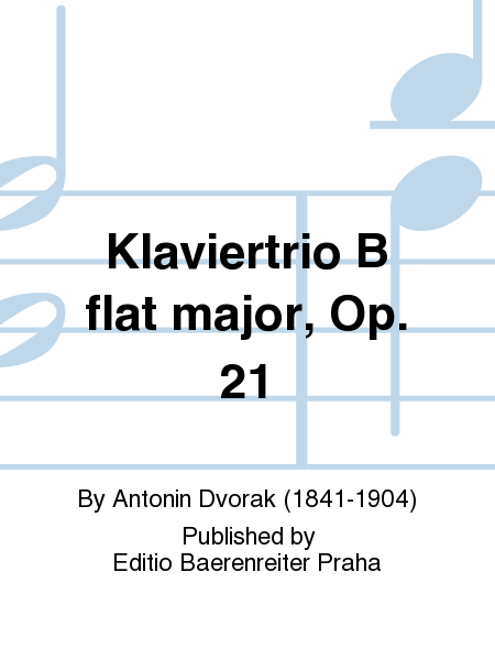 Klaviertrio B flat major, Op. 21