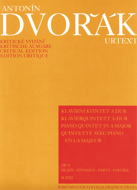 Klavierquintett A major, Op. 5