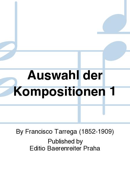 Auswahl der Kompositionen 1