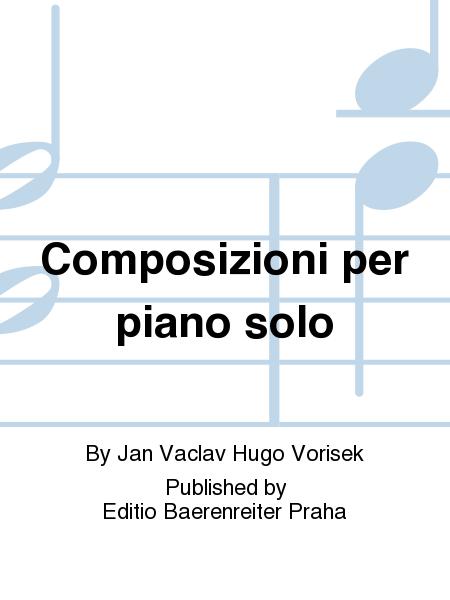 Composizioni per piano solo