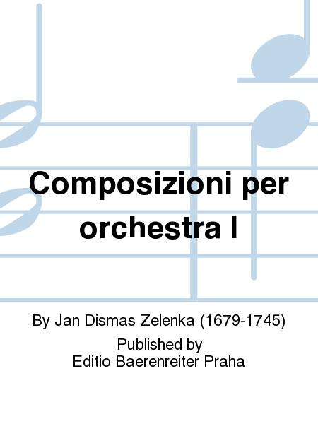 Composizioni per orchestra I