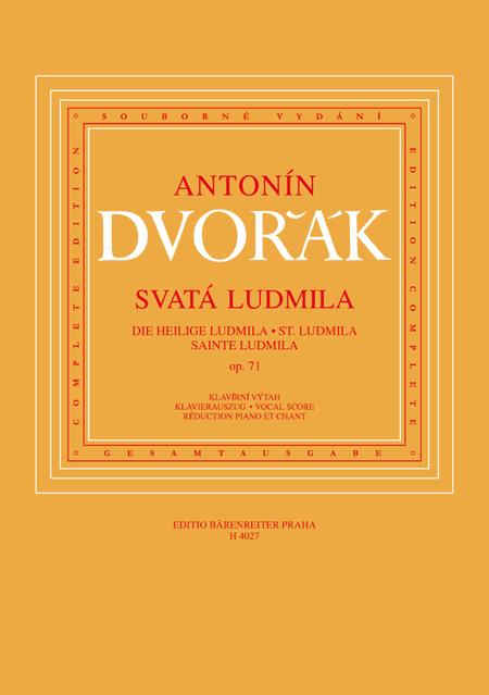 Die heilige Ludmila, Op. 71