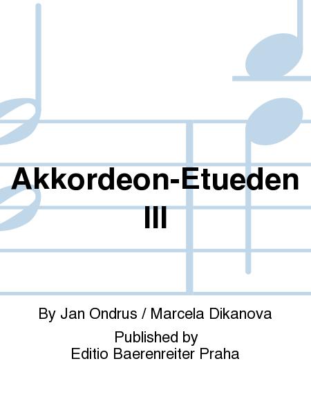 Akkordeon-Etueden III