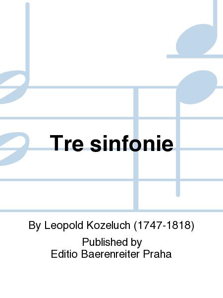 Tre sinfonie