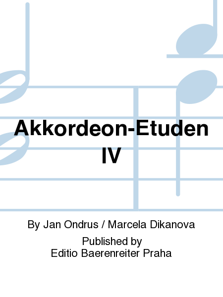 Akkordeon-Etuden IV