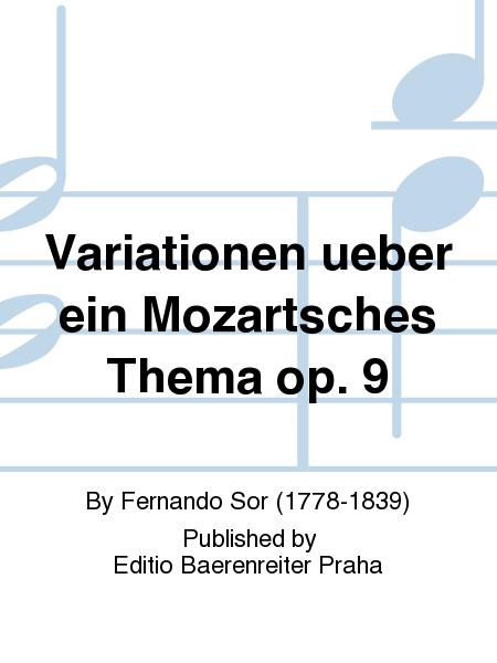 Variationen ueber ein Mozartsches Thema op. 9