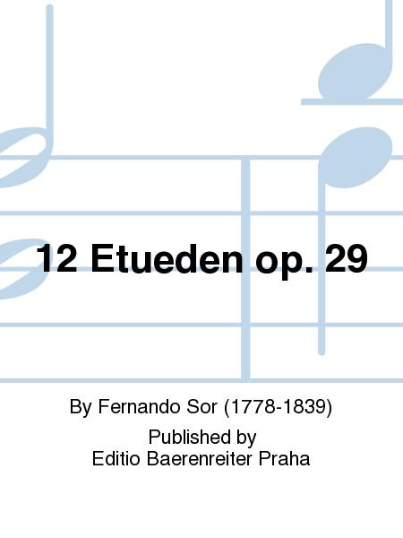 12 Etueden op. 29