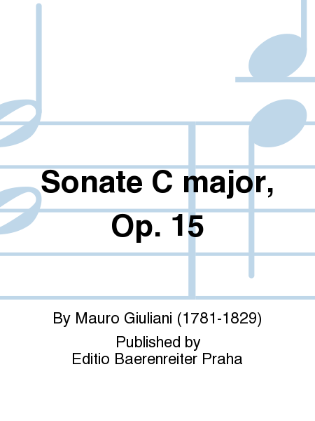 Sonate C major, Op. 15